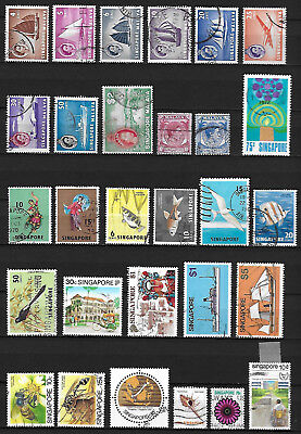 Briefmarken Singapur Singapore stamps used gestempelt