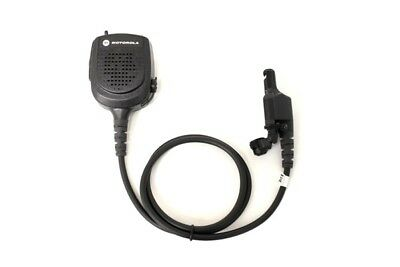 Motorola Public Safety Mic RMN5073B w/RF Adapter XTS2500 XTS1500 24ʺ Cord (NEW)