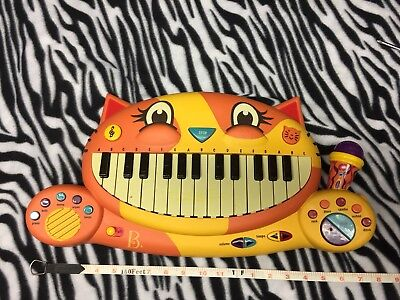 B. Meowsic Kid Toy Sing Along Play Record Piano Keyboard Microphone Cat Kitty