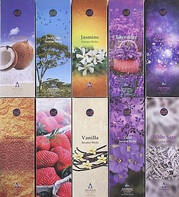 20- 200 Sticks ASRA Incense MIXED SCENT HEX Bulk Pack Lot Insence Fruity Floral
