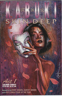 Kabuki Skin Deep Issue 1 From 1996 By Caliber Comics  David Mack Story & Art