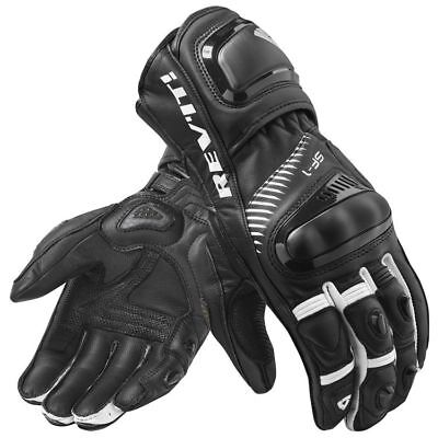 New REV'IT / REVIT Spitfire gloves SF-1 size S, Black and white.