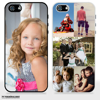 Personalised Hard Plastic Phone Case Custom Photo / Collage For Apple Iphone Se