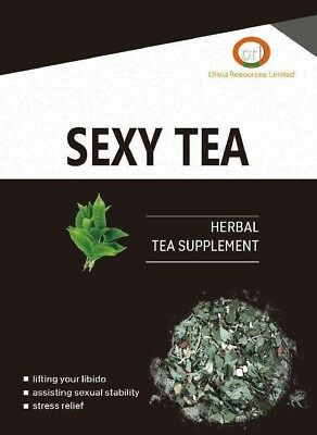 Sexy Tea- Herbal Tea Supplement For Sexual Stability-14 Tea Bags X Packet