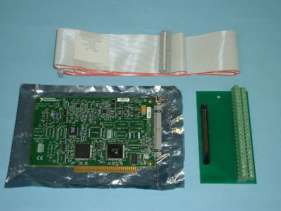 National Instruments PC1200 DAQ card, cable and interface