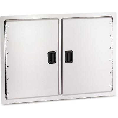 """Fire Magic Legacy 30"""" x 20.5"""" Stainless Double Access Door 23930-S"""