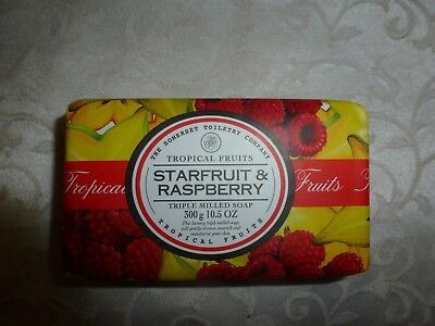 The Somerset Toiletry Company~~Starfruit & Raspberry~~Soap 10.5 Oz