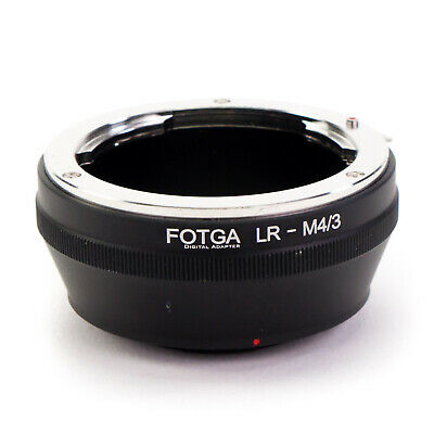 Adapter Ring Leica R LR Lens to Micro 4/3 Mount Camera M43 M4/3 Four Thirds GH5