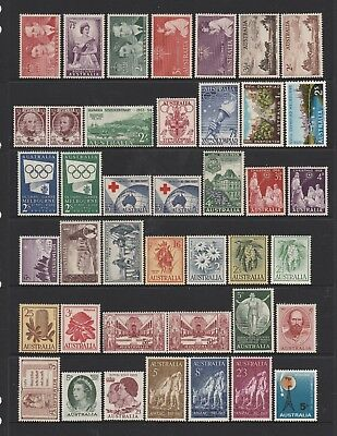 Australian Pre Decimal Stamps Mint - Collection of 41 stamps (#348)