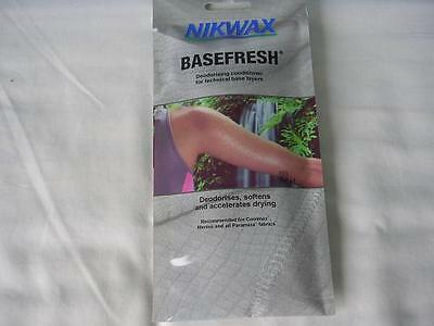 Nikwax Basefresh Deodorising Conditioner for technical base layers 50ml