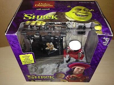 SHREK DULOC DUNGEON figure w/Sound and Water Squirting Action BNIB
