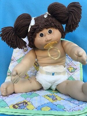 Rare JESMAR PACIFIER Girl Made In Spain In Her ORIGINAL CLOTHING and Pacifier EC