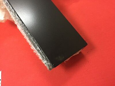 "ALUMINIUM ANGLE 4"" X ""2 (101.6MM x 50.8mm)  POWDER COATED BLACK CLEARANCE"