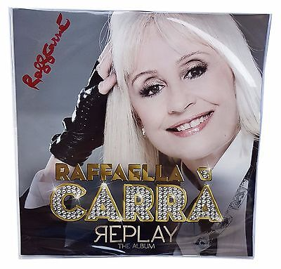 RAFFAELLA CARRA' PICTURE DISC REPLAY LIMITED LP COPIA 19/1000 Autografato !!