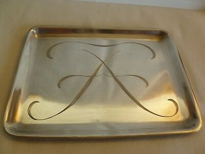 TIFFANY & Co  MAKERS STERLING SILVER  CALLING BUSINESS  CARD TRAY- 134 grams- #4