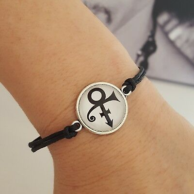 Prince Symbol Armband -  NEW Merch TAFKAP NPG Love Symbol Lovesign PRN