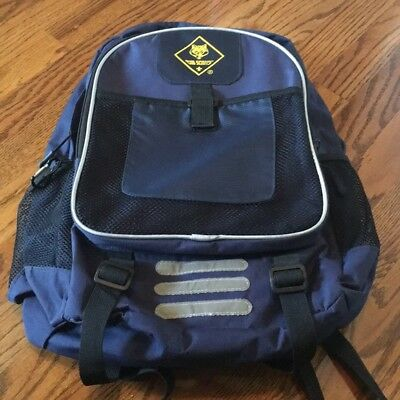 BSA Cub Scouts Backpack Navy Boy Scout Blue new without tag
