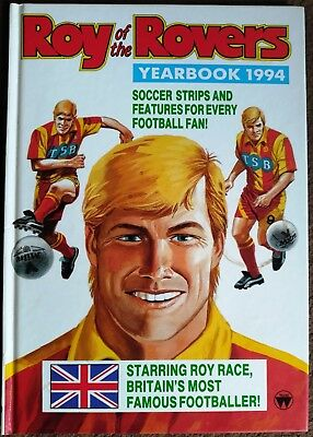 Roy of the Rovers Yearbook 1994-SOCCER STRIPS-FOOTBALL