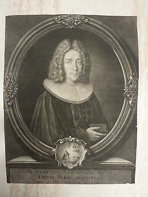 83*  Kupferstich  * Portrait Georgius Ruprechtus August   um 1750
