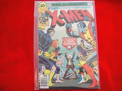 X-Men  #100 ~ Aug 1976 ~ Marvel Comics ~ Key Issue~ Old Team Vs New Team