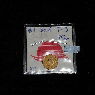 1856 Type 3 Indian Princess One Dollar $1 Gold Coin No Reserve!