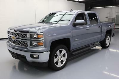 2015 Chevrolet Silverado 1500 LT Crew Cab Pickup 4-Door 2015 CHEVY SILVERADO LT CREW TEXAS ED 6-PASS NAV 46K MI #462476 Texas Direct
