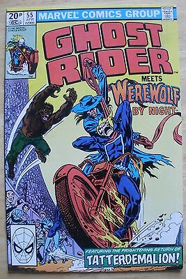 Ghost Rider 55,74  Meets The Werewolf By Night & Dracula