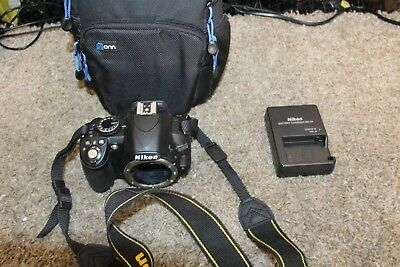 Nikon D D3100 14.2MP Digital SLR Camera - Black (Body Only) 14493