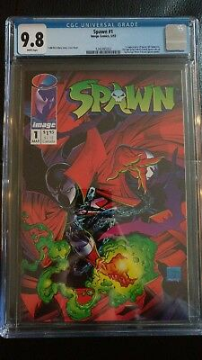 Spawn #1 (1992) CGC 9.8 White Pages - Just Back From CGC! PLEASE READ: