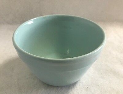 Vintage Fowler Ware Pale Blue Small Mixing Bowl
