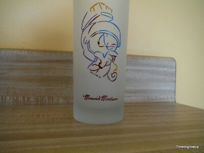 """Warner Brothers Character """"Marvin"""" Frosted Ice Tea Glass 1995"""