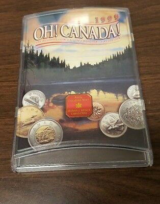 1999 Oh! Canada! Uncirculated 7 Piece Coin Set