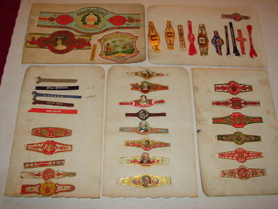 Old Cigar Band Collection - Many L@@K - Lot 1