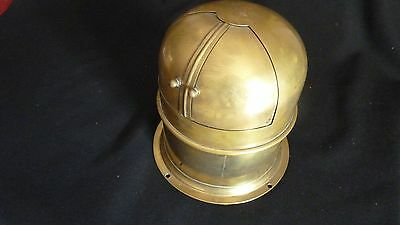 Ship's Compass - Spherical, Helmet Style Domed  Brass, Vintage