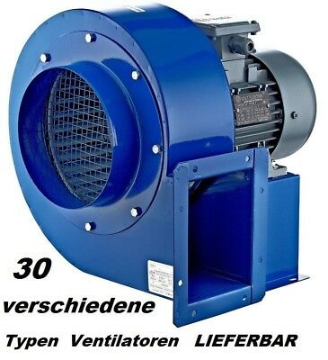 Commercial Industrial Centrifugal Dust Extractor Blower Fan ventilation Ducting