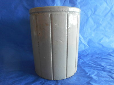 antique W P Hartley stoneware jam, marmalade jar attractive for flowers, pens+++