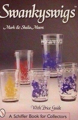SWANKY SWIGS VALUE GUIDE COLLECTORS BOOK Juice Jelly Peanut Butter Glass Jar +++