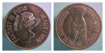 Tails You Lose - Heads I Win Challenge Coin - Fantasy in Flesh