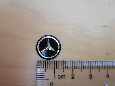 14Mm Key Fob Logo Badge Emblem Sticker For Mercedes