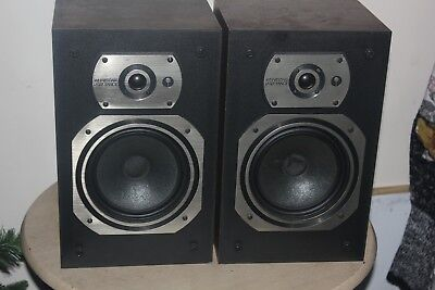 Wharfedale Laser 50 Vintage Retro Bookshelf Speakers Made In England