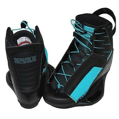Jobe Republic Mens Wakeboard Boots Bindings Size 5/8 Small
