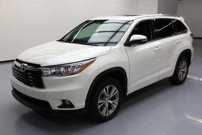 2015 Toyota Highlander  2015 TOYOTA HIGHLANDER XLE HTD SEATS SUNROOF NAV 42K MI #068165 Texas Direct
