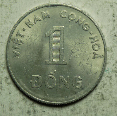 South Vietnam 1971 1 Dong Coin