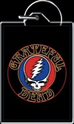 Grateful Dead Steal Your Face Keychain Phish Jerry Garcia