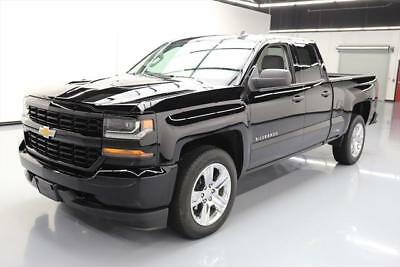 2017 Chevrolet Silverado 1500 Custom Extended Cab Pickup 4-Door 2017 CHEVY SILVERADO CUSTOM DBL CAB REAR CAM 20'S 22K #354272 Texas Direct Auto