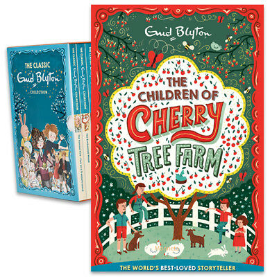 THE CHILDREN OF THE CHERRY TREE FARM - Paperback Book - Enid Blyton Collection