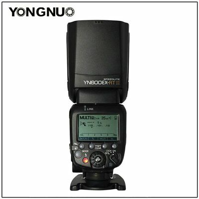 YONGNUO YN600EX-RT II HSS  TTL Master Flash Speedlite Trigger for Canon