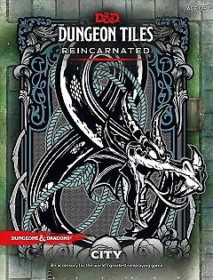 D&D Dungeon Tiles Reincarnated - City - NEW - 9780786966295 by Wizards of the Co