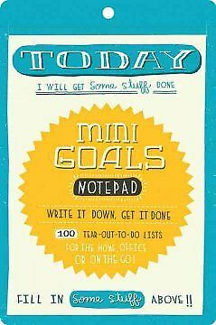 Mini Goals Notepad - NEW - 9780811875240 by Mcdevitt, Mary Kate