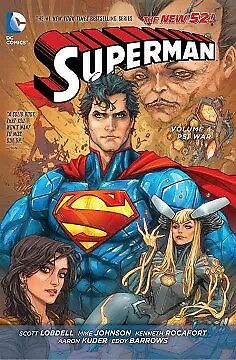 Superman 4 - NEW - 9781401250942 by Lobdell, Scott/ Johnson, Mike/ Rocafort, Ken